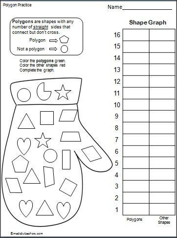 Identify Polygons Worksheet 2nd Grade - shapes ... | 362 x 486 jpeg 31kB