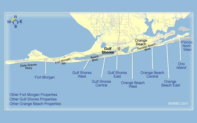 Gulf Shore Alabama Condo Rentals On The Beach