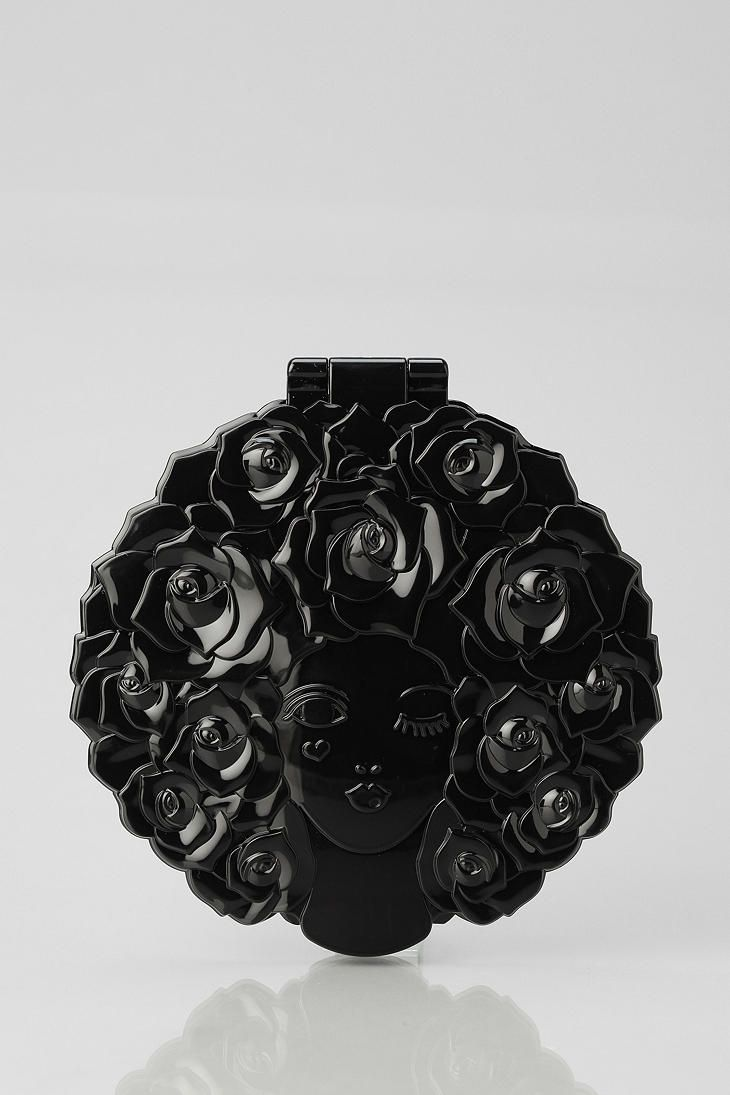 Anna Sui Limited Edition Rose Mirror  I'm obsessed with Anna Sui's makeup related packaging! So beautiful!