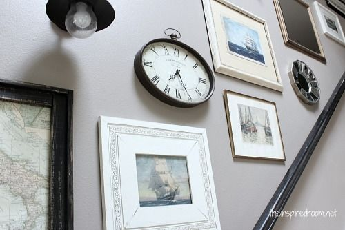 mixed frames gallery wallGallery Wall