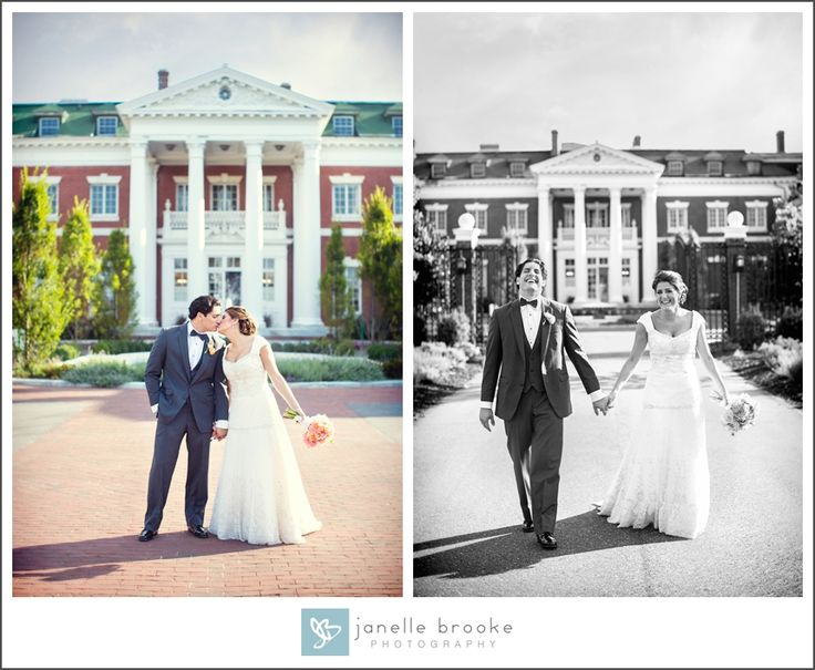 Stacey & Frank's Wedding at the Bourne Mansion » Janelle Brooke Photography