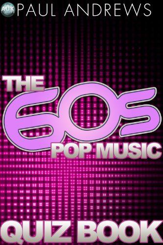 The 60s Pop Music Quiz Book (The Music Quiz Books) by Paul Andrews. $3.66. Publisher: AUK Authors; 2.0 edition (November 7, 2012). Author: Paul Andrews. How well do you know your 60's Pop Music? This Quiz book will test even the most avid fan, with questions that span the 60's  bands and songs! Test yourself and your friends with this 60's Pop Music Quiz Book.                            Show more                               Show less
