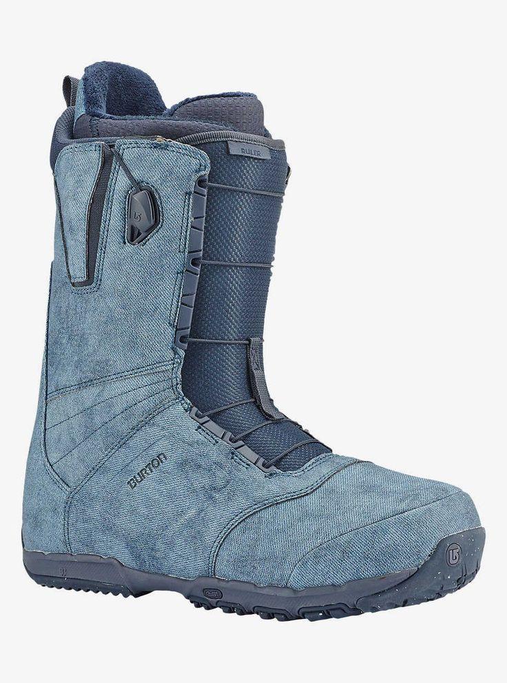 Burton Ruler Snowboard Boot Denim 2017