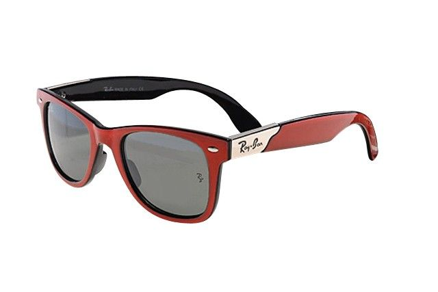 Ray Ban RB4195 sunglasses dark red / gray lens - Up to 86% off Ray ban sunglasses for sale online, Global express delivery and FREE returns on all orders. #rayban #sunglasses #cheapraybansunglasses #mensunglasses #womensunglasses #fakeraybansunglasses
