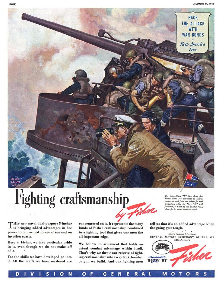 Look magazine Illustrated by Dean Cornwell December 1943