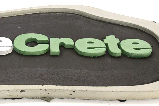 17 best images about concrete signs made with shapecrete for Craft cement mix