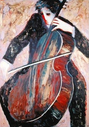 The Cellist - Pinterest