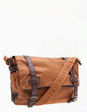 Bershka Romania - Side pockets messenger bag