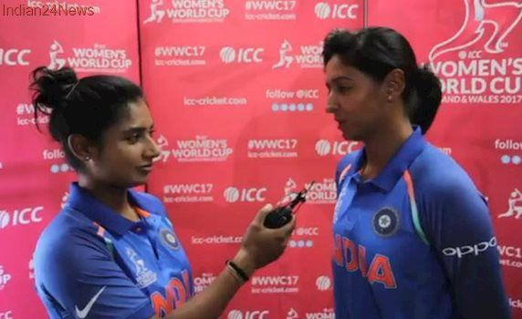 Whenever I get a chance I play FIFA, says Harmanpreet Kaur in chat with Mithali Raj, watch video