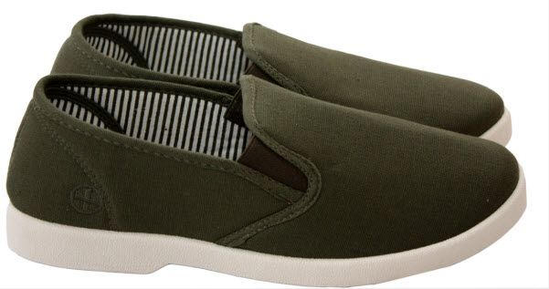 Mens slip on canvas Wide fitting Plimsolls pumps summer Casual Trainers lshoes