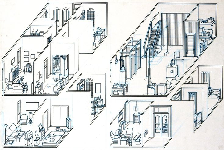 14 Best Isometric Drawings Images On Pinterest