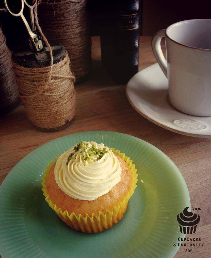 Ginger lemon cupcake..
