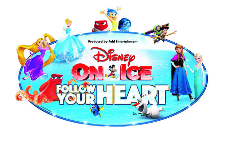Disney On Ice Presents Follow Your Heart in Baton Rouge, La!
