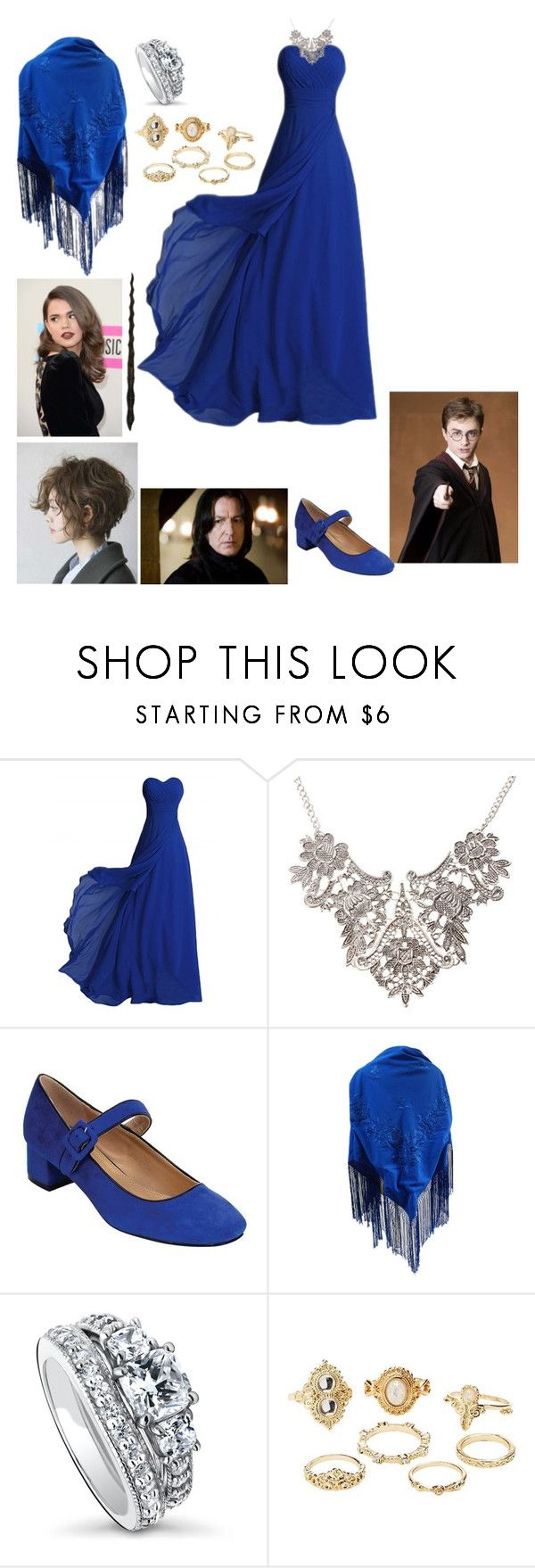 """""""Charlotte-Order of the Phoenix"""" by the-first-of-her-name13 ❤ liked on Polyvore featuring Beston, BERRICLE and Charlotte Russe"""
