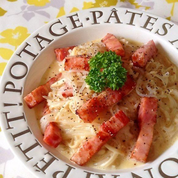 麺やパスタの代わりに。しらたきを使った低カロリーレシピ - macaroni