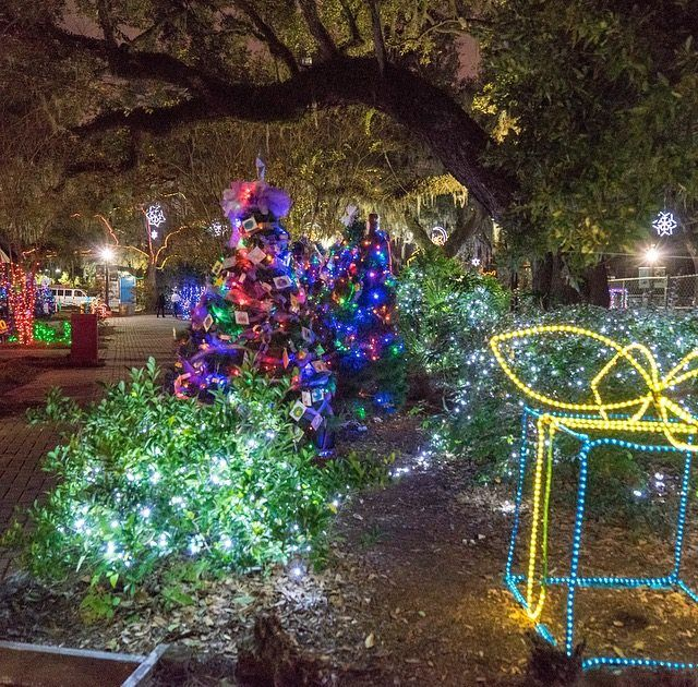 Celebration in the Oaks is a magical New Orleans holiday tradition. Enjoy it in New Orleans City Park through January 2!
