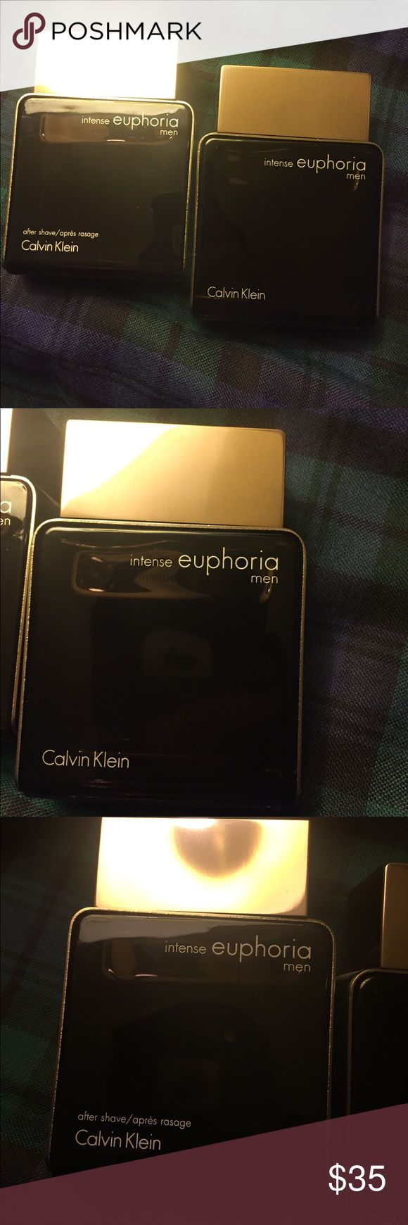 Calvin Klein-Men's Cologne & After Shave set 100ml Euphoria- Set of Cologne and aftershave Full bottles Calvin Klein Other