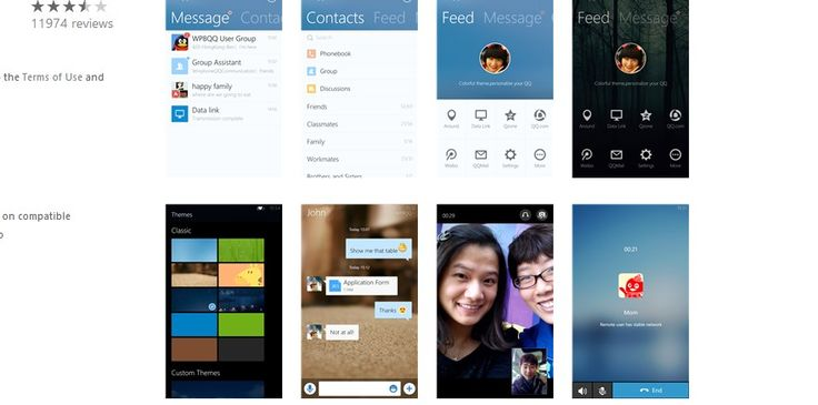 22 Windows Phone IM Chat Applications 2014
