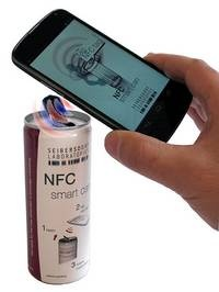 NFC-enabled Smart Beverage Cans and Bottles