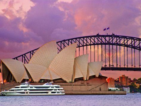 Sydney Opera House, Sydney, New South Wales, Australia Photographic Print by…