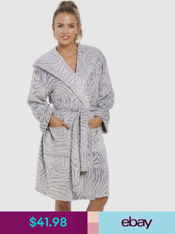 CAMILLE Damen Verschiedene Design super weiche Fleece Onesies