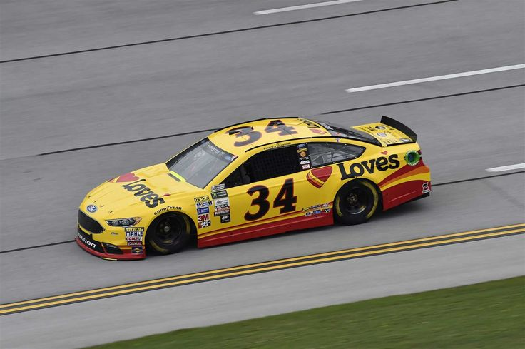Starting lineup for 2017 spring Talladega race  By NASCAR.com | Saturday, May 6, 2017  Landon Cassill will start 25th in the No. 34 Front Row Motorsports Ford  Crew chief: Donnie Wingo  Spotter: Freddie Kraft  Photo Credit: John K Harrelson NKP  Photo: 25 / 40