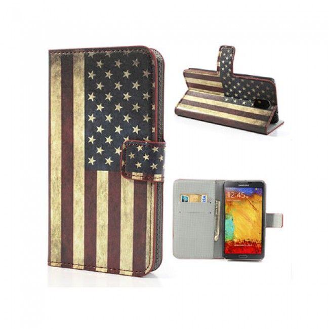 Festival (US-lippu) Samsung Galaxy Note 3 Nahkakotelo - Ilmainen Toimitus! - http://lux-case.fi/catalog/product/view/id/23938/s/festival-us-lippu-samsung-galaxy-note-3-nahkakotelo/category/19108/