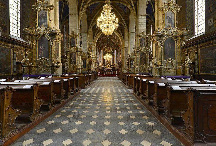 Sandomierz Cathedral, Poland