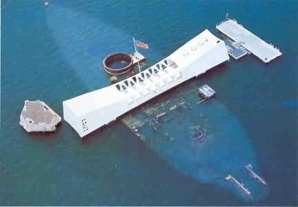 USS Arizona, HA very humbling experience. God bless the USA!!