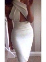 Halter Backless Midi Dress @celebrityfashionlookbook.com $39.99. We ship internationally