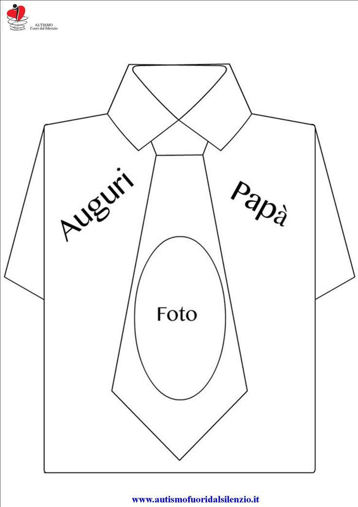 camicia auguri papà