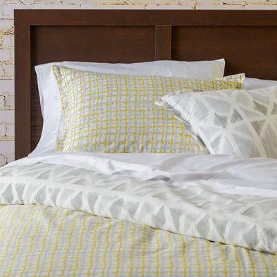 Mercury Row Sophus Yellow Comforter Set