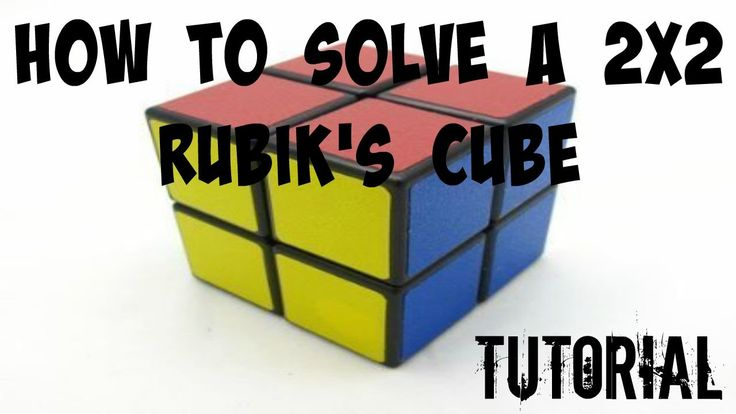 How to solve the 2x2 Rubik's Cube! [With Just 2 Algorithms]