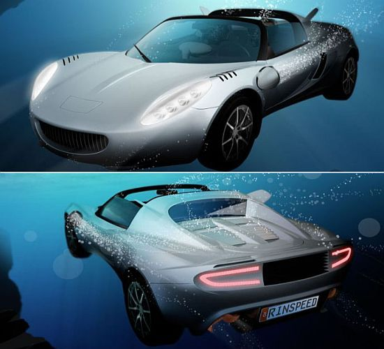 The Rinspeed SQuba Concept Car Looks To Be Inspired By