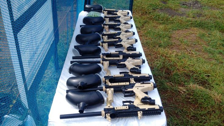 An Overview how to play Paintball