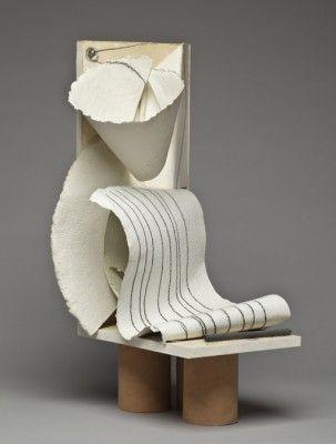 "Anthony Caro ""Paper Sculpture No. 98,"" 1981  http://www.pinterest.com/elisevashby/art-modern-sculpture/"