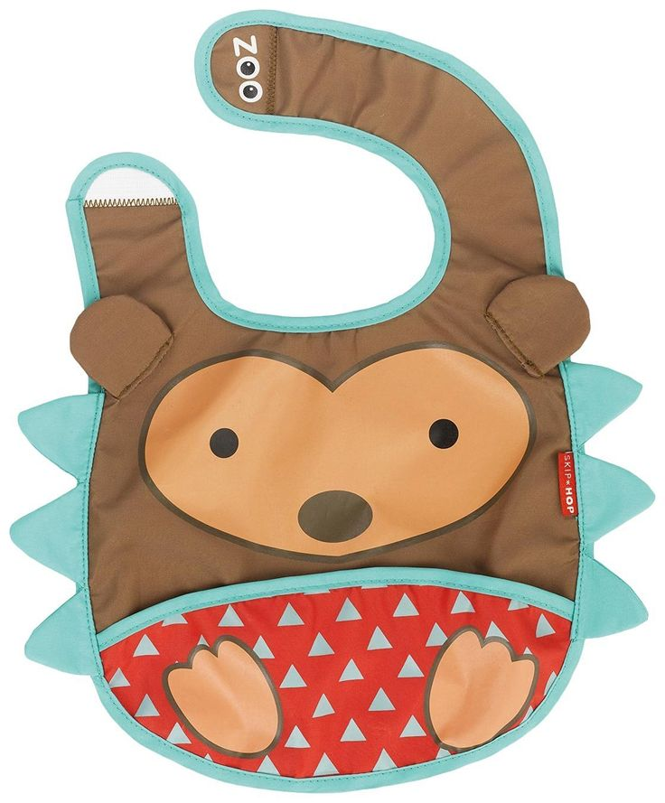 Skip Hop Zoo Tuck-Away Bib, Hedgehog   Zoo Bibs are lightweight and water-resistant with a handy catch-all pocket to keep things neat Read  more http://shopkids.ca/skip-hop-zoo-tuck-away-bib-hedgehog/