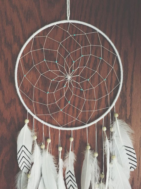 Dreamcatcher Black dream catcher white dreamcatcher by KariWidener