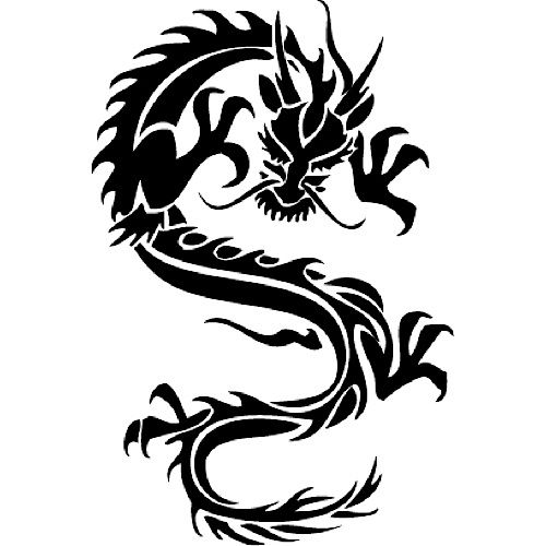 chinese dragon stencils chinese dragon ryan pinterest chinese japanese dragon and stencils. Black Bedroom Furniture Sets. Home Design Ideas