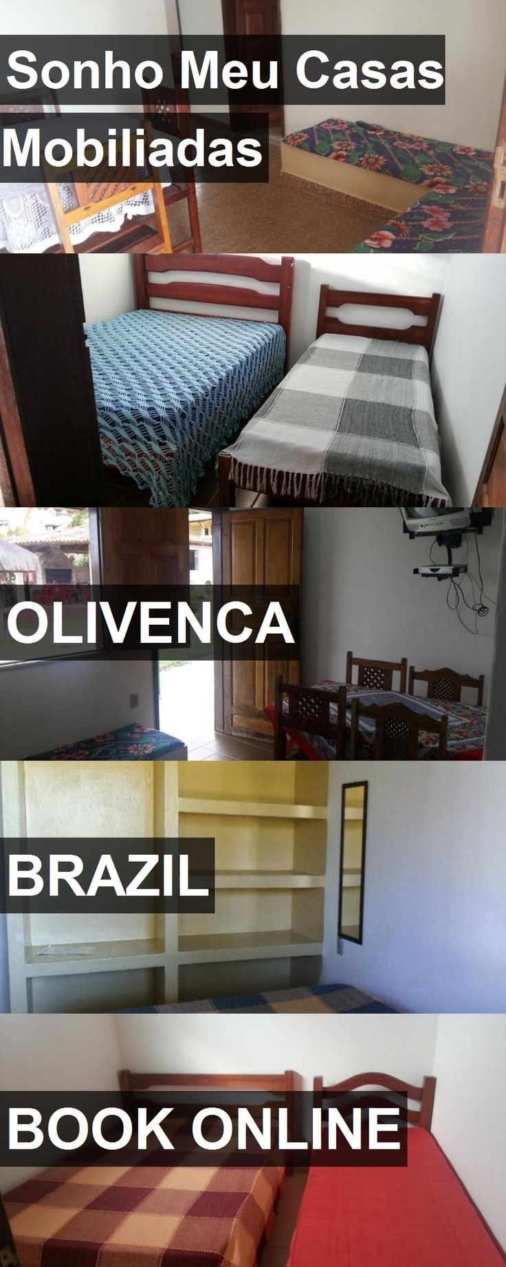 Hotel Sonho Meu Casas Mobiliadas in Olivenca, Brazil. For more information, photos, reviews and best prices please follow the link. #Brazil #Olivenca #SonhoMeuCasasMobiliadas #hotel #travel #vacation