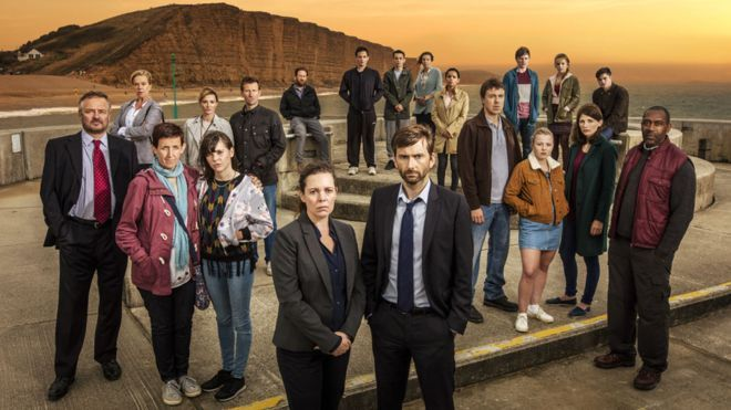 The cast of Broadchurch