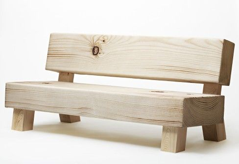 Small Bench (probably more for the looks...)
