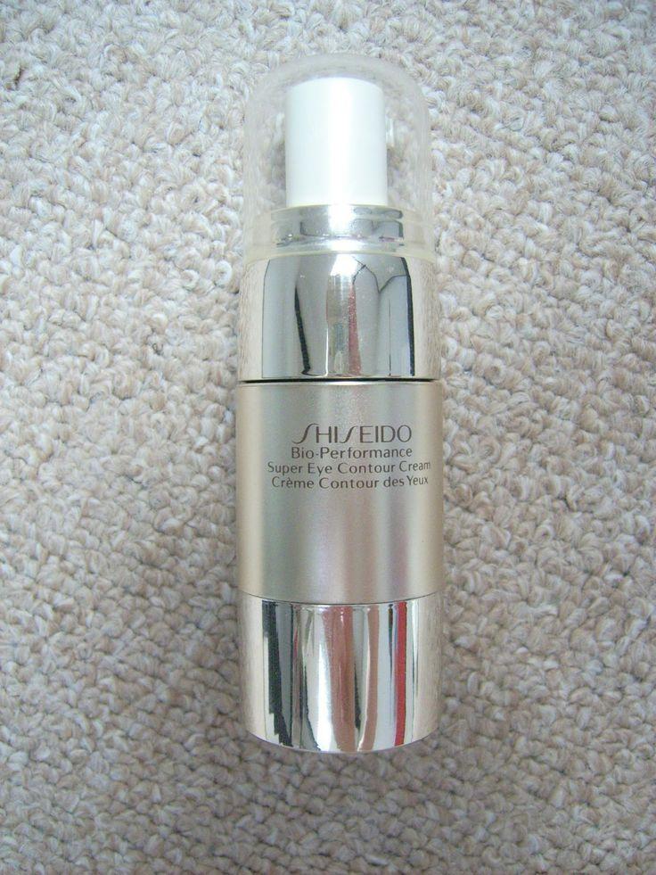 Shiseido Bio-Performance Super Eye Contour Cream http://dianabeautymix.blogspot.ro/2013/04/crema-de-ochi-shiseido.html