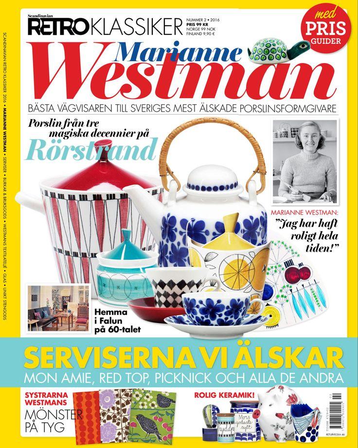 """Marianne Westamn - Book """"Retro Marianne Westman"""""""