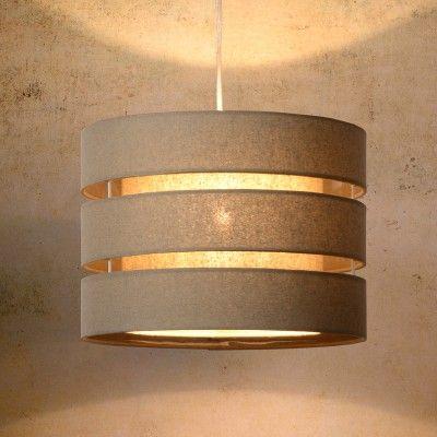 Lucide Tonio Ceiling Pendant - Taupe - Lighting Direct