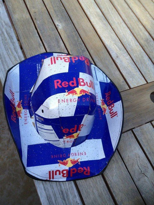 how to make a beer box hat