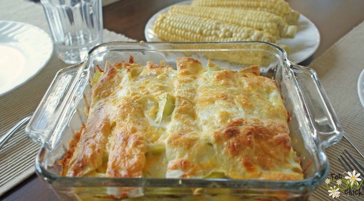 Puffy Chile Rellenos Casserole - simply layer chilies, cheese & tortilla strips -pour beaten eggs & spices - say breakfast!