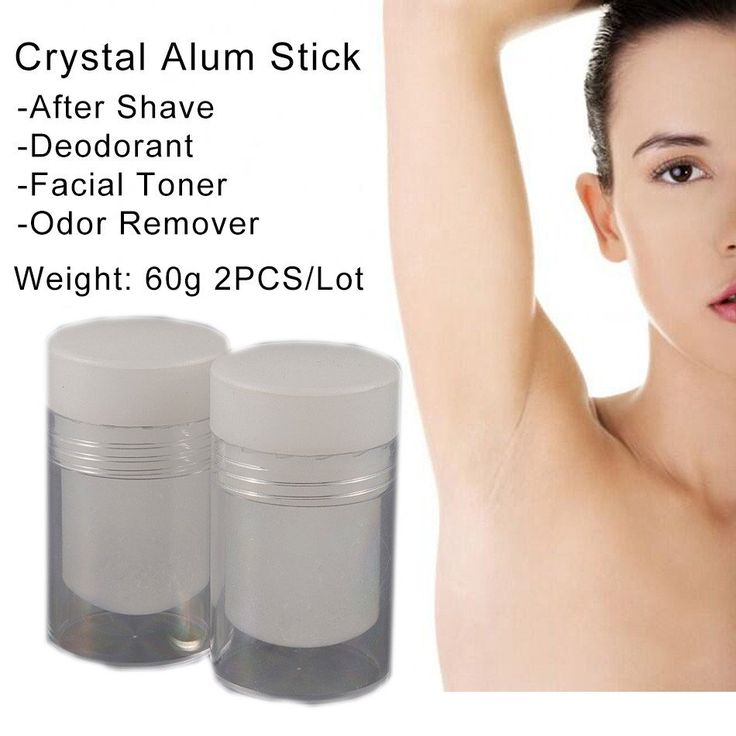 CRYSTAL BODY DEODORANT Natural Stick 60g 2pcs Item Type: Antiperspirant NET WT: 60g Size: 60g Ingredient: Natural Alum Stone Model Number: Crystal Deodorant Alum Stick Usage1: helping to stop bleeding, close skin pores Usage2: deodorant Usage3: facial toner for oily skin and acne Usage4: odor remover  Feature   Crystal deodorant made of pure potassium alum is highly effective at preventing odor.   Crystal deodorant provides 24 hour odor prevention.   Natural potassium alum crystal lasts up…