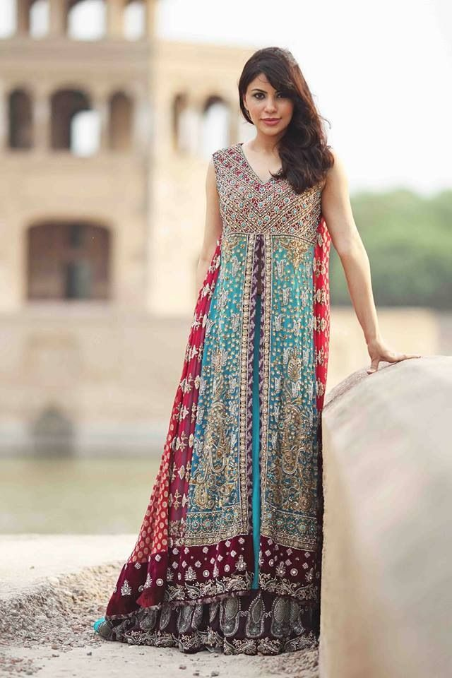 Charming Kosain Kazmi Is One Of The Newcomers In The Fashion Industry Of Pakistan.  See Kosain Kazmi Bridal Wear Collection 2013 For Women Over Here.