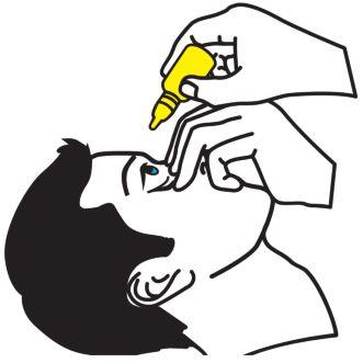 advies over het correct toedienen van oogdruppels handig beeldmateriaal www.oogdruppelen.nl/